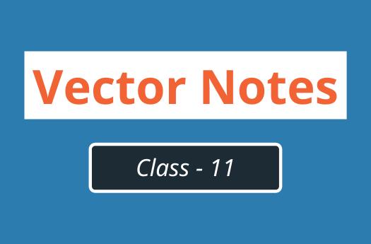 Vectors Class 11 Physics | Notes