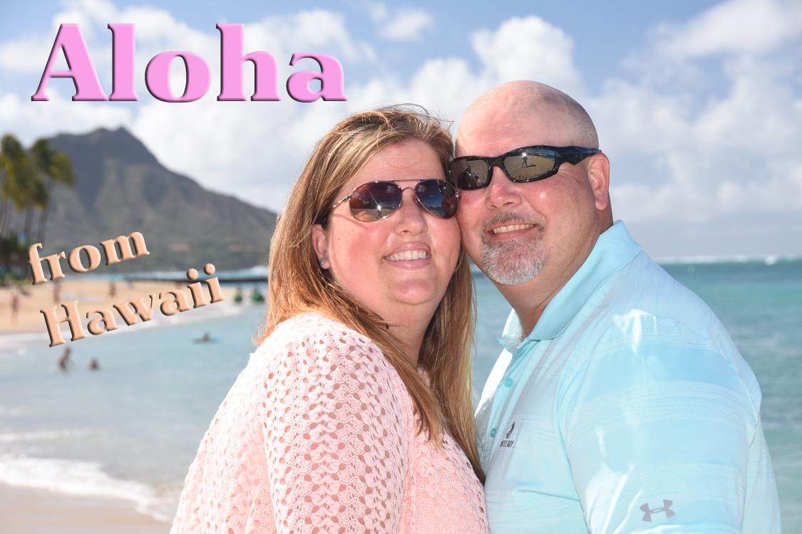 Oahu Postcard