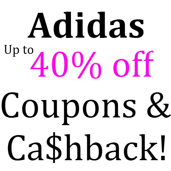 Adidas Coupons February, March, April, May, June 2021