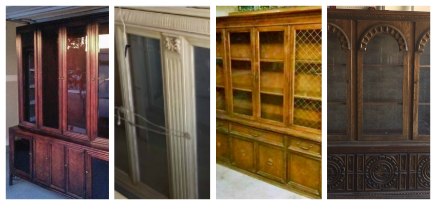 china cabinet makeovers, repurposed china hutch, painted china hutch, chalk painted china hutches, repurposed furniture ideas, repurposing furniture, repurposed furniture before and after