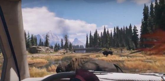Far Cry 5 Grill Streak, Side Quest, bison