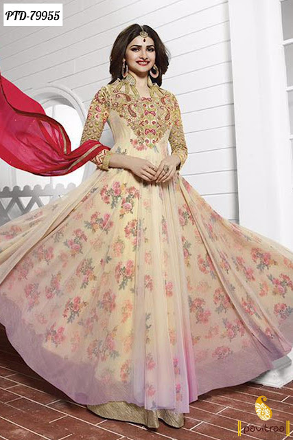 Prachi Desai Designer Bollywood Salwar Kameez Suits Online With Discount Sale