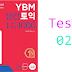 Listening YBM Practice TOEIC LC 1000 - Test 02