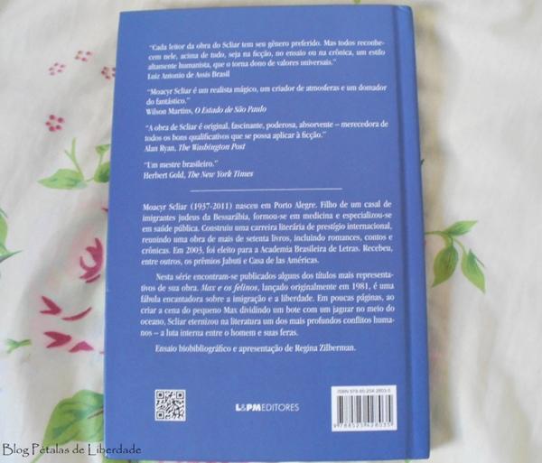 Resenha, livro, Max-e-os-felinos, Moacyr-Scliar, editora-lepm, diferença-edição-bolso-e-capa-dura, fotos, opinião, a-vida-de-pi, critica, sinopse