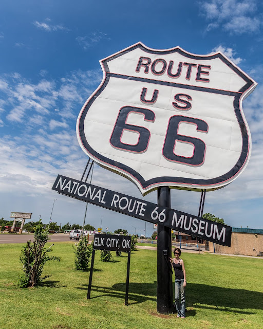 Route 66 Museum Route 66 Oklahoma_by_Laurence Norah