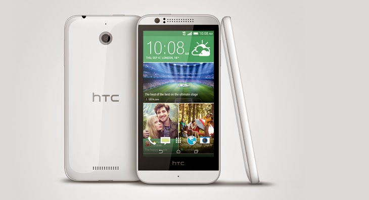 HTC announces a mid range 4G LTE Android smartphone called HTC Desire 510