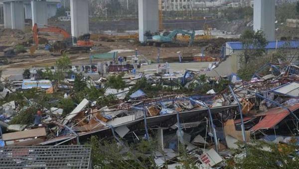 Tifón Meranti deja al menos 29 muertos en China