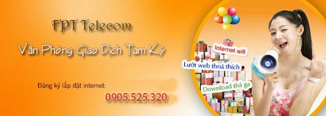 Lắp Mạng Internet FPT Phường Trường Xuân, Tp Tam Kỳ