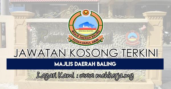 Jawatan Kosong Terkini 2018 di Majlis Daerah Baling