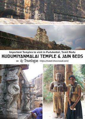 Kudumiyanmalai shikanathaswamy temple jain beds Tamil Nadu Pinterest