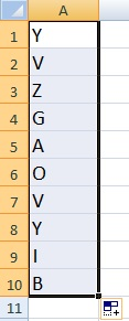 How to Quickly Generate Random Numbers and Letters in Excel