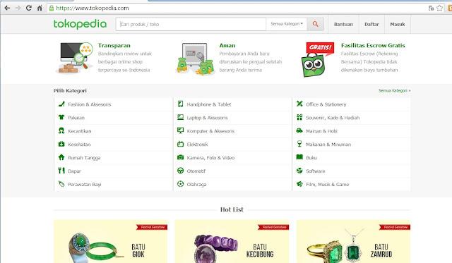 Pengalaman Berbelanja di Tokopedia.com Menggunakan Mandiri E-Cash