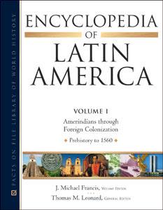 Encyclopedia of Latin America 4 Vol set
