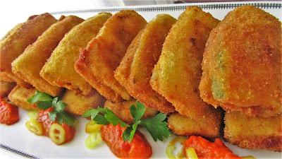 Pohani sendviči od tikvica / Fried zucchini sandwich