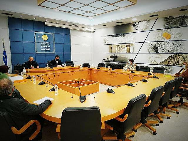 Σύσκεψη στην Αργολίδα του Αντιπεριφερειάρχη Προγραμματισμού και Ανάπτυξης - Επίσκεψη στο έργο άρδευσης του Δήμου Επιδαύρου