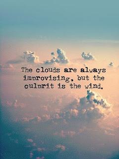 Sky and cloud caption