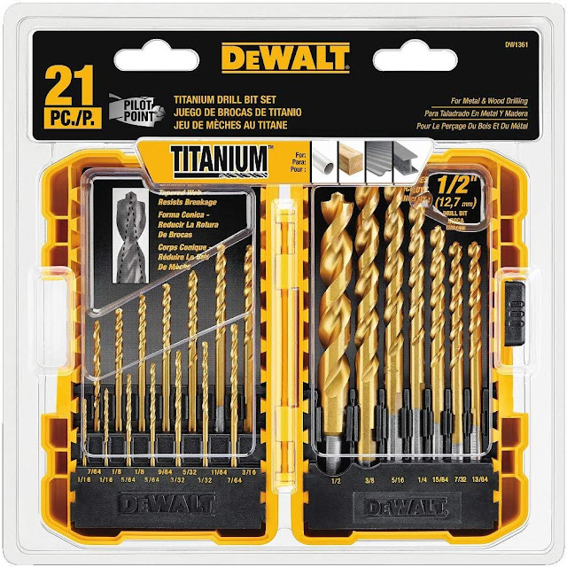 best tool drill bit set replacement