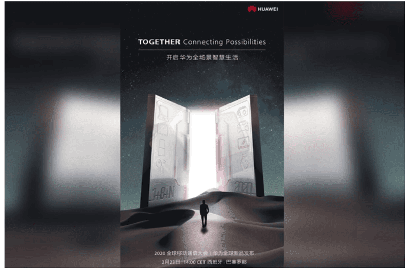 Huawei to host February 23 Barcelona event, will launch the Mate Xs and more