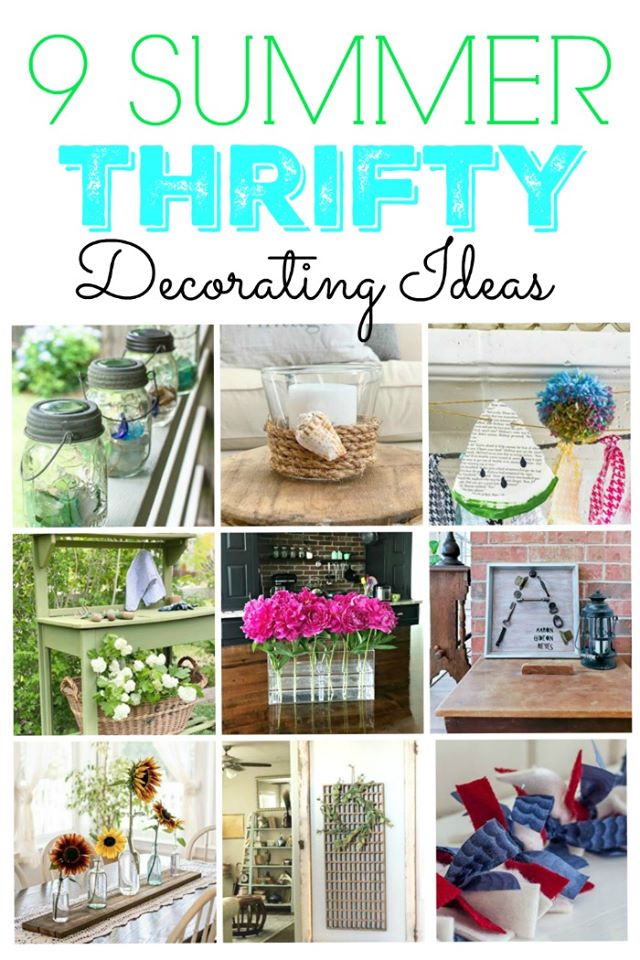 Thrifty Style Team Blogger summer projects roundup