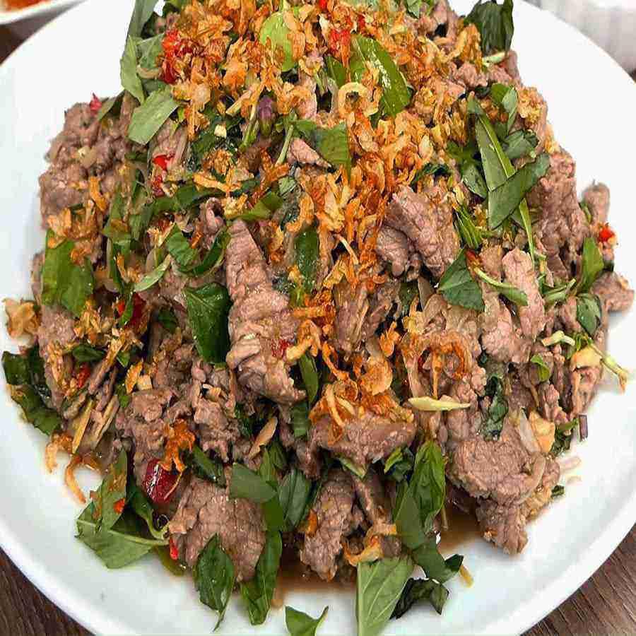 Bò tái Chanh
