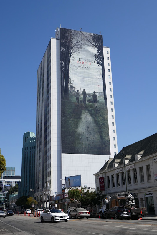 Giant A Quiet Place Part II billboard