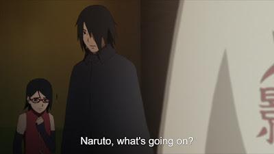 Gambar Sasuke, Sarada, Naruto