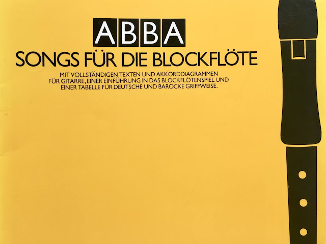 Liederbuch mit Abba Songs