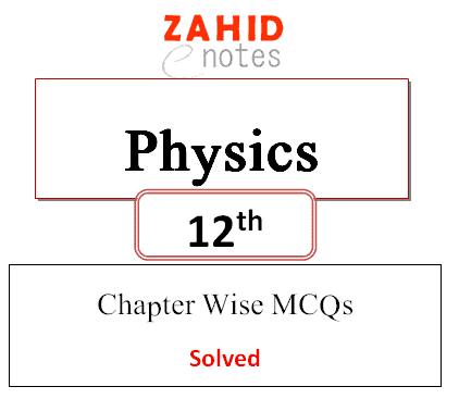 2nd year class 12 physics mcqs solved pdf doownload