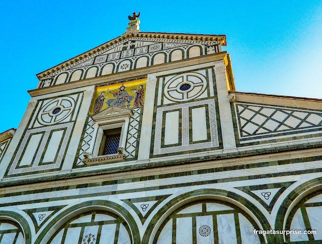 Florença: Basílica de San Miniato al Monte