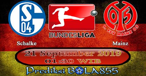 Prediksi Bola855 Schalke vs Mainz 21 September 2019