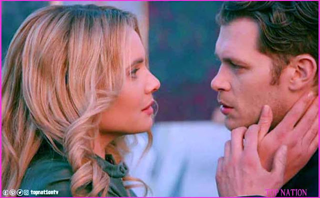 Camille O'Connell and Klaus Mikaelson