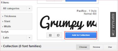 Cara menggunakan Google Font