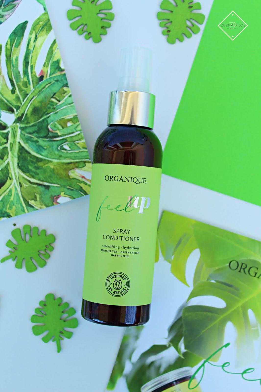 Wygładzająca odżywka do włosów w sprayu Organique Feel Up