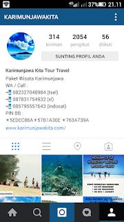 akun instagram karimunjawa kita