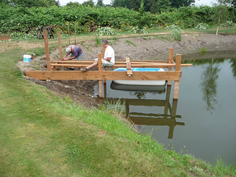 Md: How to build a boat dock for a pond