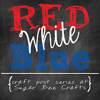 Sugar Bee Crafts Red White Blue