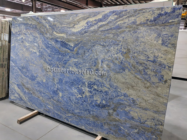 Sodalite Blue Granite Slabs for Countertops NYC