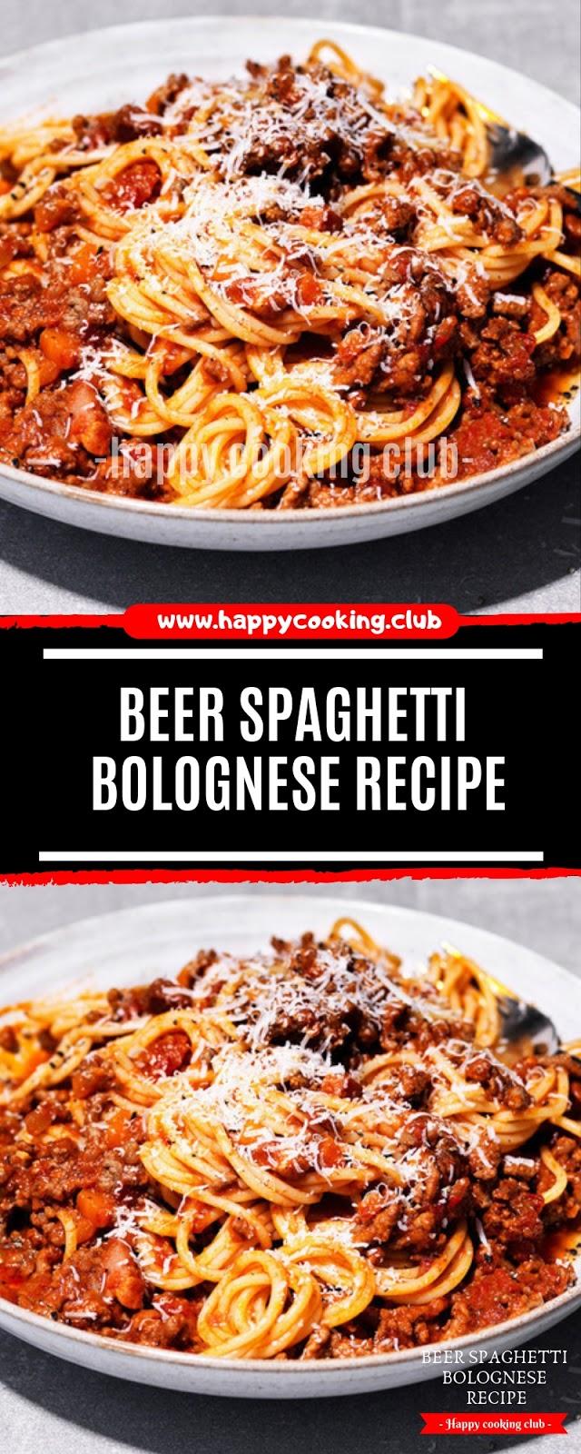 Beer Spaghetti Bolognese Recipe