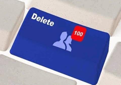 شرح طريقة حذف جميع الأصدقاء على الفيس بوك دفعة واحدة بضغطة زر