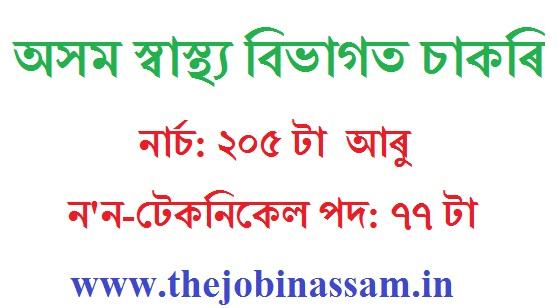Assam Hills Medical College & Research Institute, Diphu Grade-III (Non-Technical) Recruitment 2019: