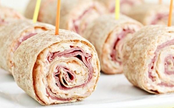 Reuben Tortilla Pinwheels Recipes