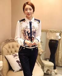 Model Baju Kemeja Wanita Style Korea Modern Terbaru