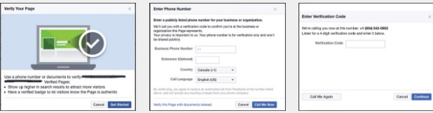 how to get facebook page verified 2017