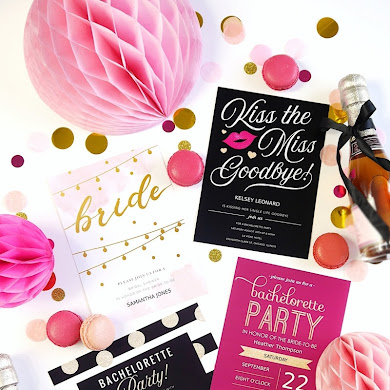 DIY Bridal Shower Stationery & Personalized Gifts