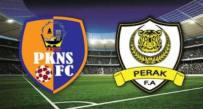Live Streaming Pkns vs Perak Piala Malaysia 30.9.2018