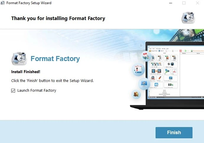 تحميل برنامج تحويل صيغ الفيديو مجانا Format Factory الاصلي