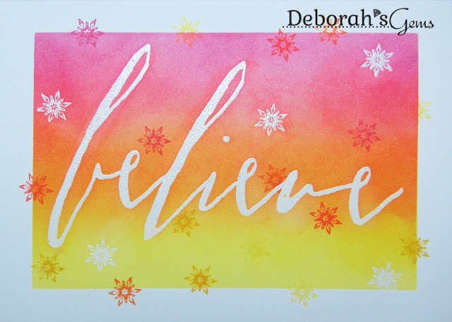 Believe - photo by Deborah Frings - Deborah's Gems