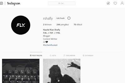 bio instagram unik