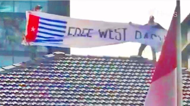 Bendera Papua Merdeka Berkibar di Atap KJRI, Staf Jokowi Sesalkan Australia