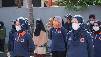 Siapkan Perempuan Tangguh Bencana, BPBD NTB Gelar Simulasi